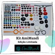 Kit de olhinhos e focinhos AmiMundi - Edição limitada (venda até 29/01/2021)