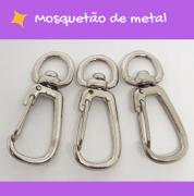 Mosquetão de metal
