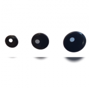 Olho redondo preto
