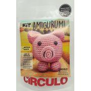 Kit Amigurumi Porco