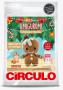 Kit Amigurumi - Coleção Natal - Biscoito de Gengibre