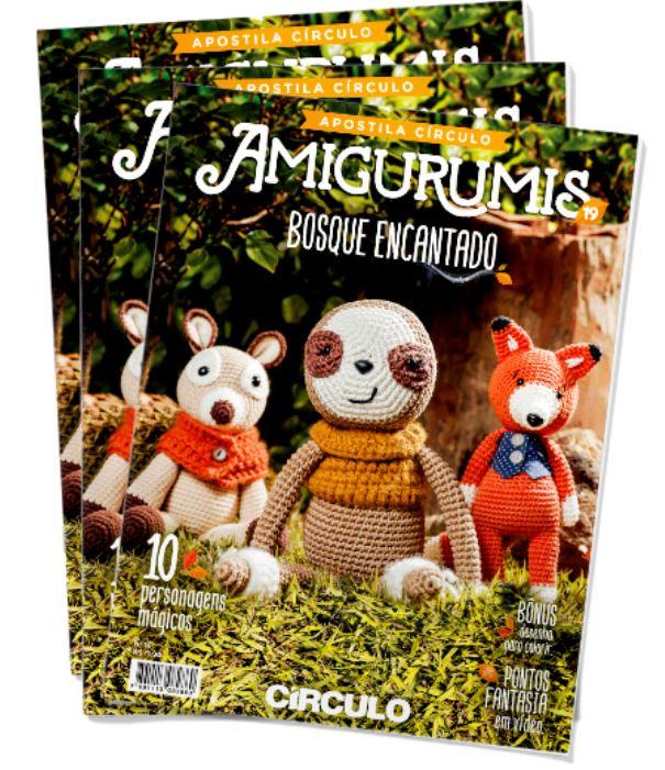 Apostila Amigurumis Nº 19  - AmiMundi