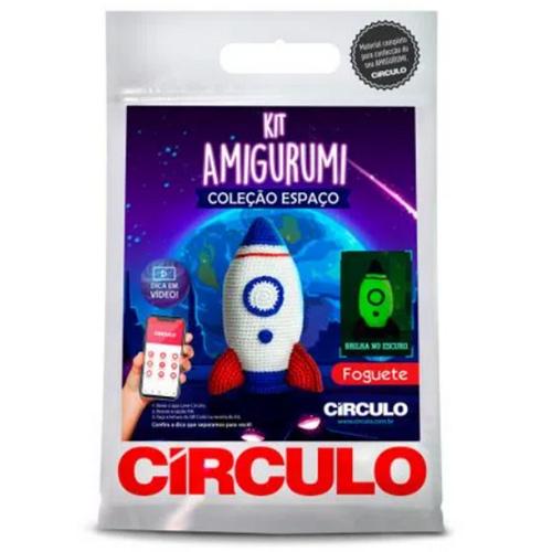 Kit Amigurumi - Foguete  - AmiMundi