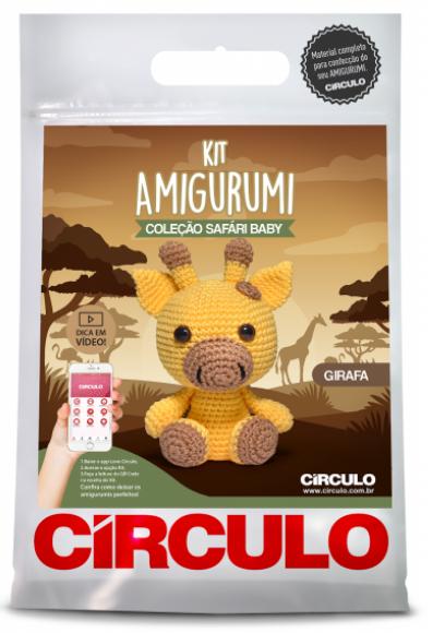 Kit Amigurumi Safari Baby - Girafa 4  - AmiMundi