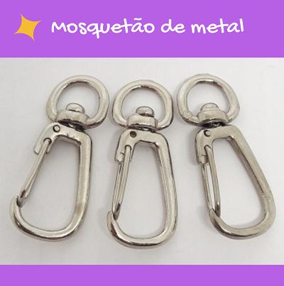 Mosquetão de metal  - AmiMundi