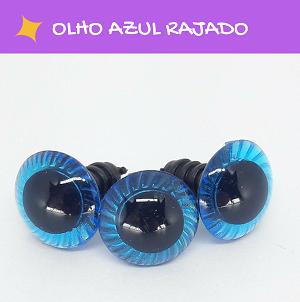 Olhos rajados com travas - Azul  - AmiMundi
