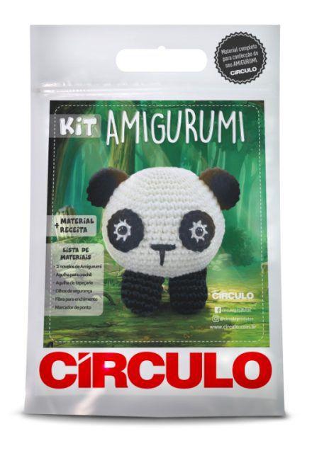 Kit Amigurumi Panda  - AmiMundi