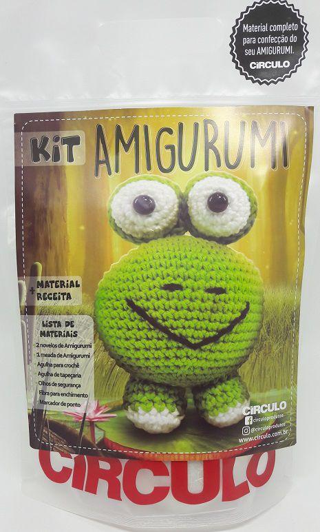 Kit Amigurumi Sapo  - AmiMundi