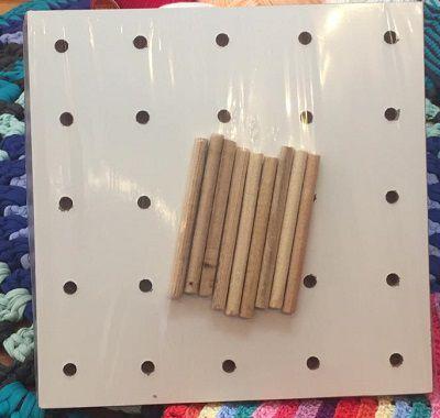 Suporte para quadradinho de crochê - Modelo 2  - AmiMundi
