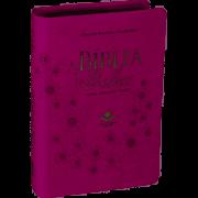 A Bíblia da Mulher |  Almeida Revista e Atualizada | Vinho | Médio