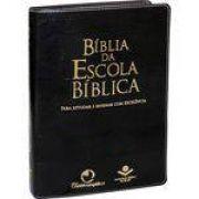 Bíblia Da Escola Bíblica | Almeida Revista E Atualizada | Preta