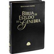 Bíblia de Estudo Genebra | Almeida Revista e Atualizada | Preta