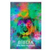 Bíblia|King James| Atualizada | Capa Leão Color