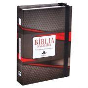 Bíblia Sagrada | Almeida Revista e Atualizada | Fonte de Bençãos | Com Caderno para Anotações  | Capa Tradicional