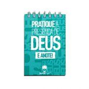 Caderneta | Jesus copy| Praticando a presença de Deus