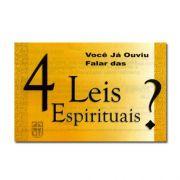 Folheto | Você Já Ouviu Falar Das 4 Leis Espirituais?