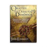 Livro Orações que derrotam demônios | John Eckhardt