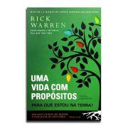 Livro Uma Vida Com Propósitos | Para Que Estou Na Terra | Rick Warren