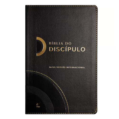 Bíblia do Discípulo | NVI | Capa Luxo Preta