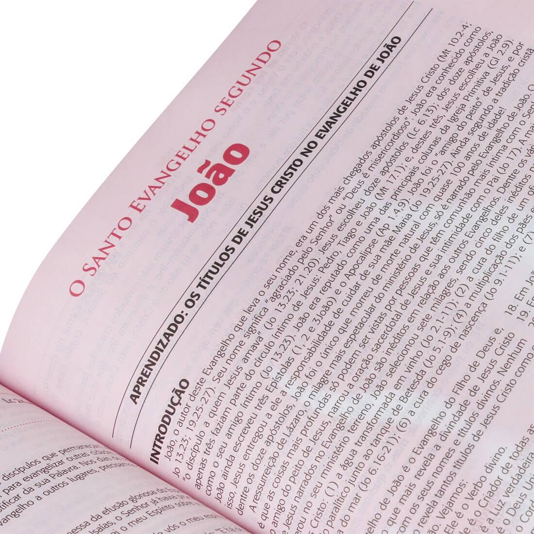 Bíblia do Pregador Pentecostal | Almeida Revista e Corrigida | Preta