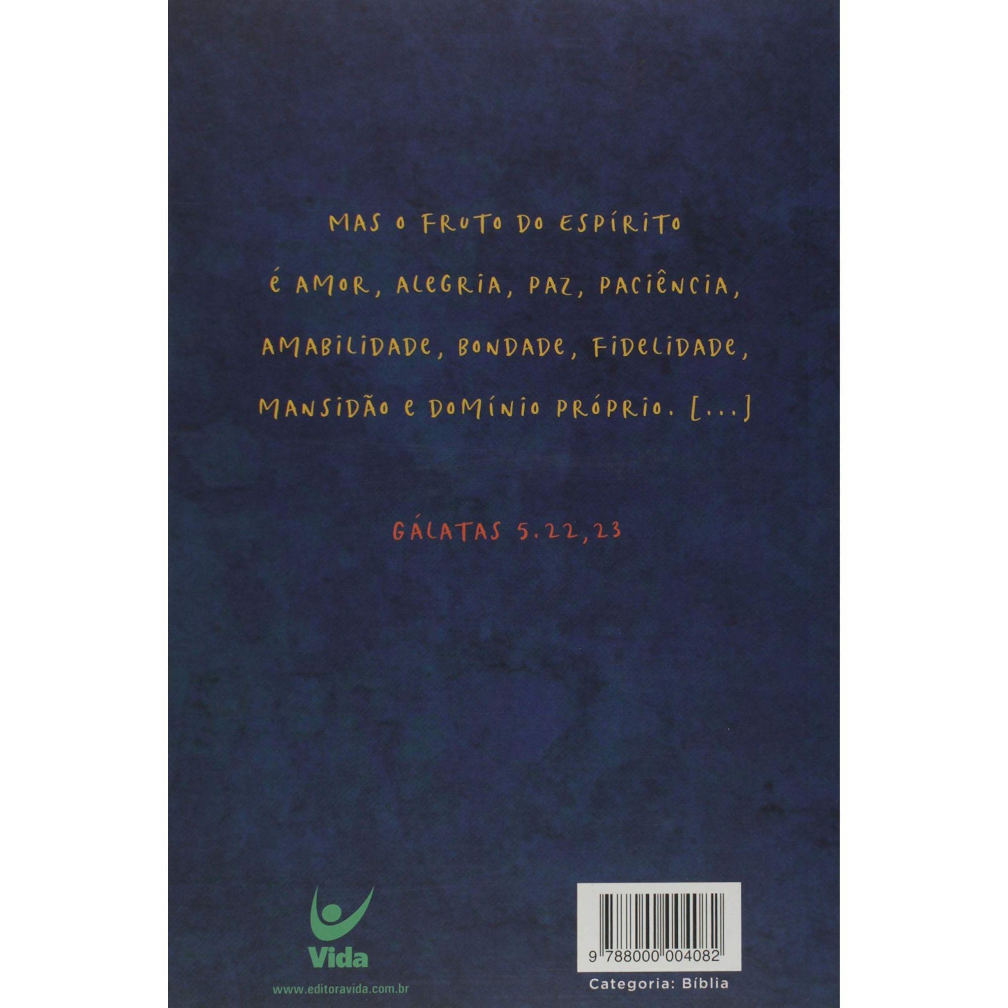 Bíblia | NVI | Brochura | Azul | João 3-16 |Editora Vida