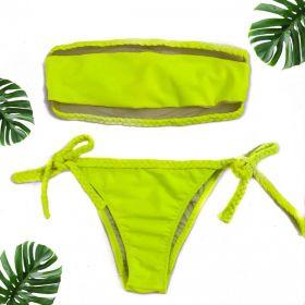 Biquíni Tomara que Caia Neon Verde Afrodite