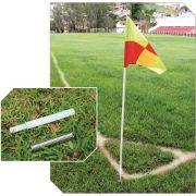 Bandeira Corner Escanteio Offside Jogo C/ 4