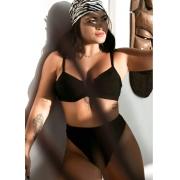 Biquíne Cintura Alta Mariposa Blogueiras Luxo Feminino Adulto Ref T1990