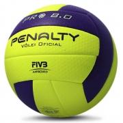 Bola Penalty Volei 8.0 Pro IX Aprovado FIVB Profissional Unissex