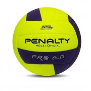Bola Penalty Voleibol 6.0 Pro X Profissional  Adulto Unisex