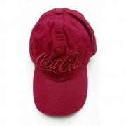 Boné Coca-Cola Basic Bord Front Masculino Adulto - Ref 225391