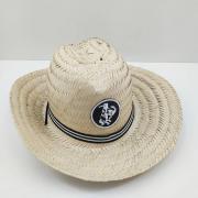Chapéu Rio Branco Cawboy Palha Infantil Natural Tam Único