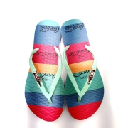 Chinelo Coca-Cola Shoes Letnie Paski Feminino Adulto CC3235