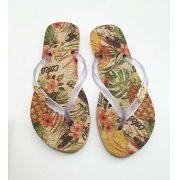 Chinelo Coca Cola Shoes Pineapple Feminino Adulto CC2742