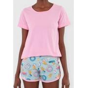 Pijama Feminino Lupo Corgi Confort 5180