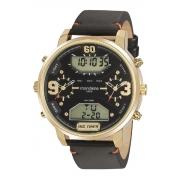 Relógio Mondaine Feixo Pu Casual Esportivo Masculino Adulto Ref 32221