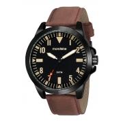 Relógio Mondaine Pulseira PU Casual Esportivo Masculino Adulto Ref 99523