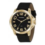 Relógio Mondaine Pulseira Pu Casual Esportivo Masculino Adulto Ref 99524