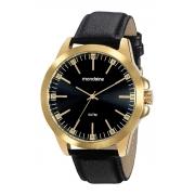 Relógio Mondaine Pulseira Pu Casual Masculino Adulto Ref 99515