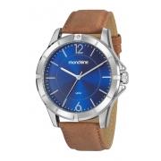 Relógio Mondaine Pulseira Pu Casual Masculino Adulto Ref 99525