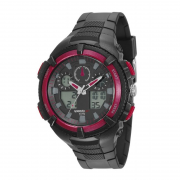 Relógio Speedo Pulso Feixo Pu Masculino Adulto 81159G0EVNP3