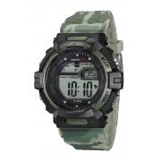 Relógio Speedo Sport Verde Militar Masculino Adulto Ref 81191