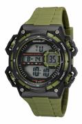Relógio Speedo Sport Verde Militar Masculino Adulto Ref 81198