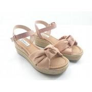 Sandália Bebecê Plataforma Confort Fashion Fem Ad 4041-587