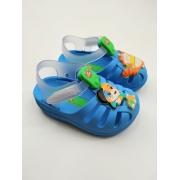 Sandália Grendene 44 Gatos Cuties Aranha Baby Infantil Menino Azul