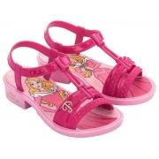 Sandália Infantil Menina Disney Princesas 25 ao 34 Ref 50485