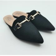 Sapatilha Mule Bebecê Casual Fashion Fivela 2056-397