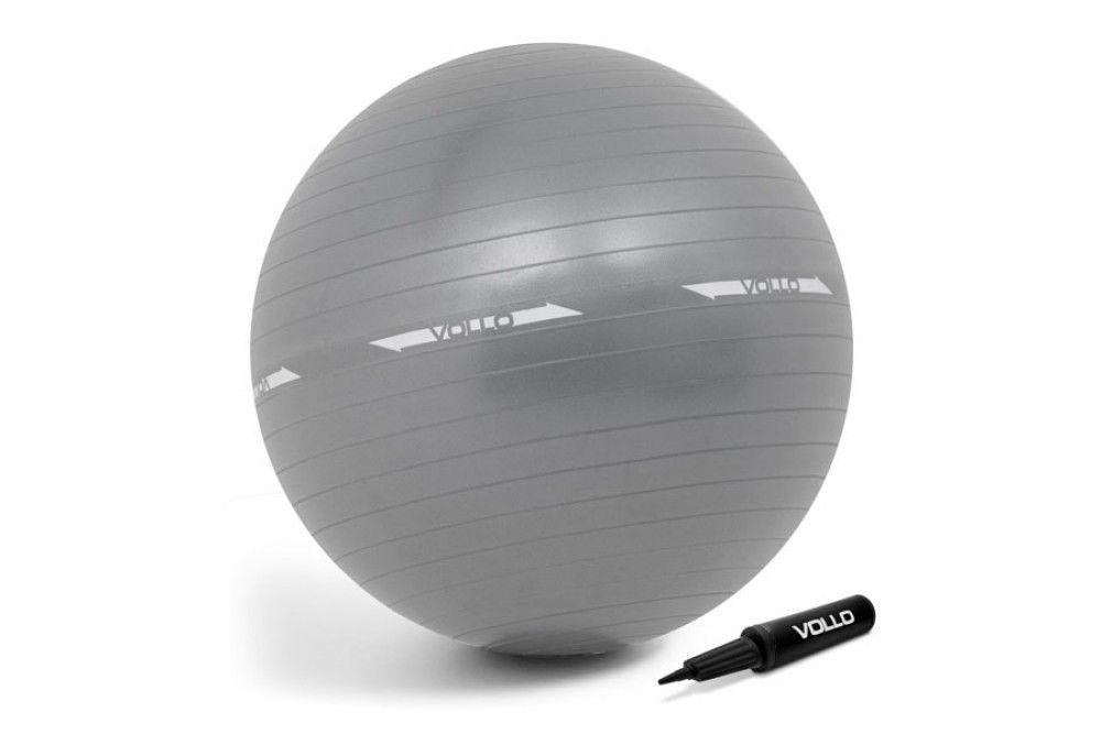 Bola Gym Ball Vollo De Ginástica Com Bomba 75cm