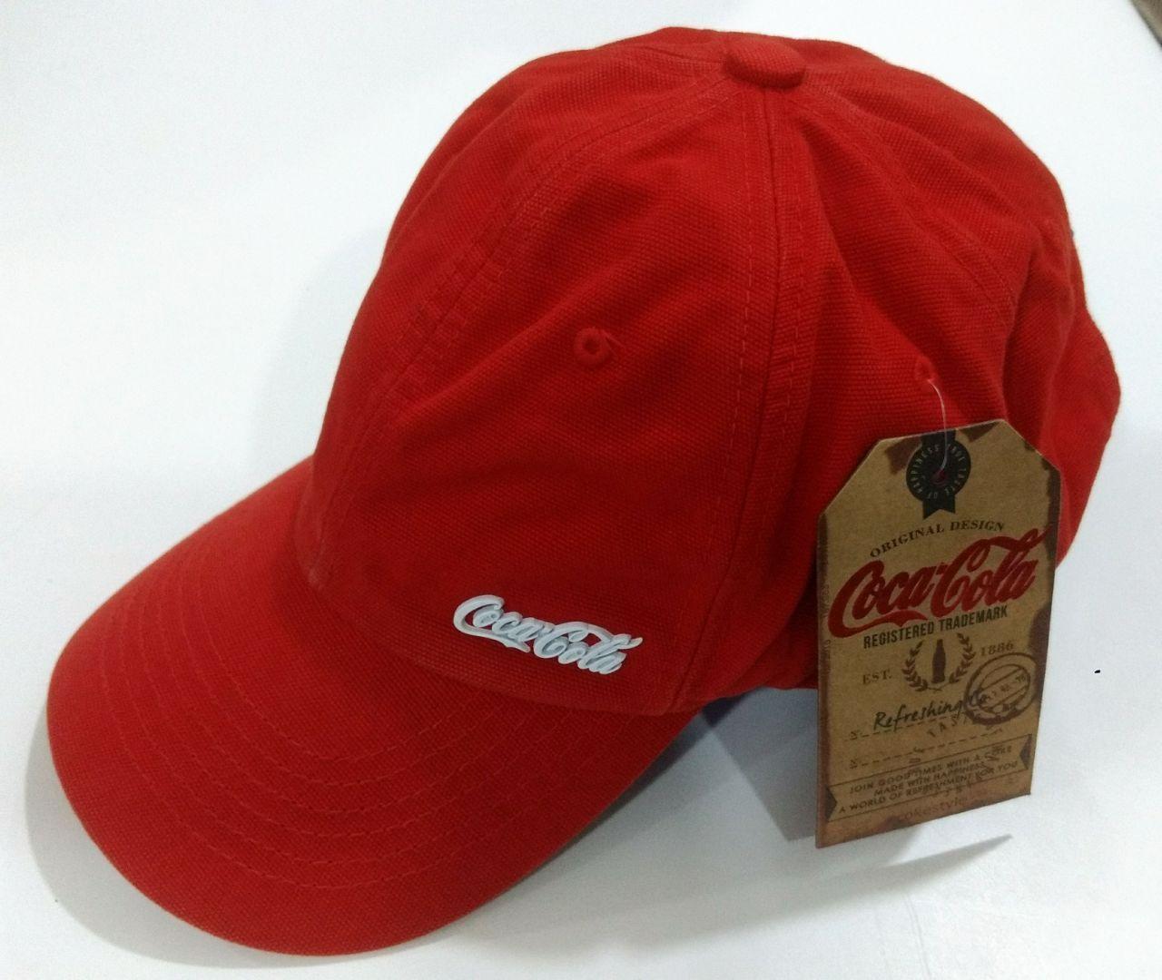 Boné Coca-Cola Metal Frente Esquerda Multicores
