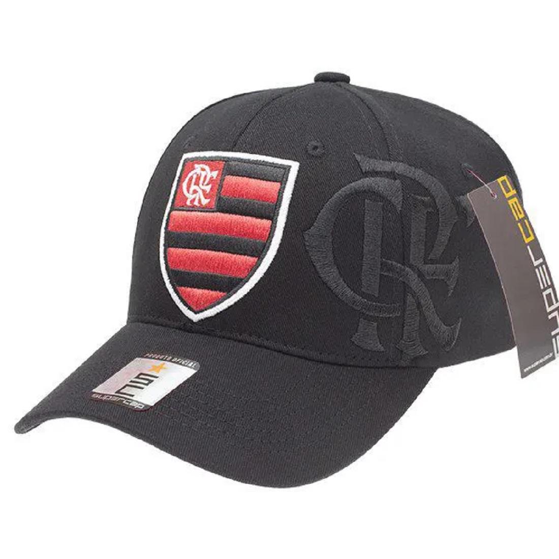 Boné FlexCap Flamengo Zico Licenciado Mediterraneo 102U